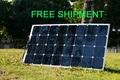 Solarparts 1PCS 100W flexible solar panel 12V solar cell/module/system RV/car/marine/boat battery charger LED Sunpower light kit