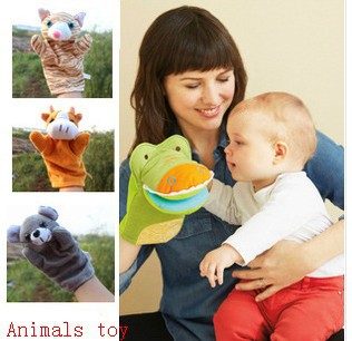 15kinds animals toy various hand puppet toys baby early learning education - Little Genius store