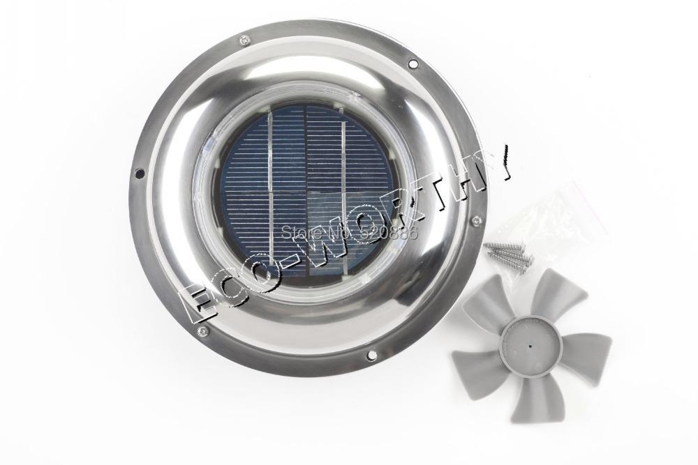 USA stock, no tax, Solar Powered Attic Fan solar ventilators solar roof fan solar Vent for boat RV, free shipping(China (Mainland))