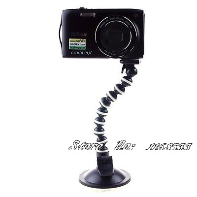 Large Stand Vacuum Suction CUP Flexible Mount Tripod for Camera DV GPS Webcam(China (Mainland))