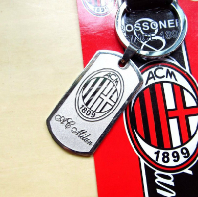 2015 Football Keychain Stainless Steel Soccer Badge Keyring Fans Key Holder Souvenir - jim yue's store