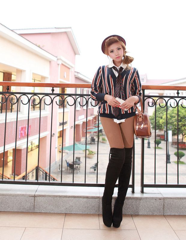 2013 New Hot Sale Autumn And Spring High Heel Boots Shoe Fine With