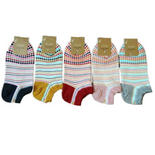 10pec=5pair/lot Fashion women casual socks cotton classic striped colorful socks colorful female socks warm socks women soft