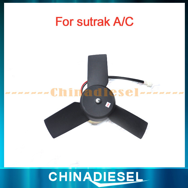 Bus Air Condenser Fan Assembly suit Sutrak Bus HKCF2501/Air Conditioning Spare Parts Cooling Fan Assembly For Sutrak System(China (Mainland))