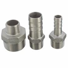 """Mejor precio de la alta calidad 3/4 """" rosca macho tubos tubo de montaje x conector Tail Barb manguera de acero inoxidable NPT herramientas de uso doméstico(China (Mainland))"""