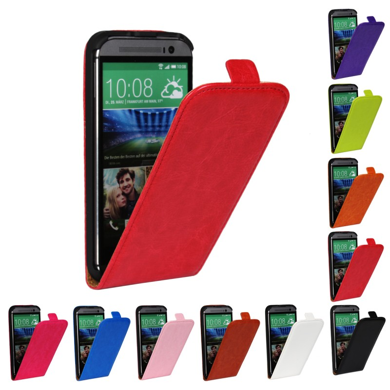 HTC One M8 Cases Flip Cover Coque Fundas Leather Wallet Mobile Phone Accessory HTC One M 8 Cases Cover Capa