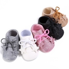 Buy 2017 Newest Fashion Style Cute Baby Girls Boys Solid Color First Walker Toddlers Kids Cute Toddler Shoes H2 for $3.20 in AliExpress store