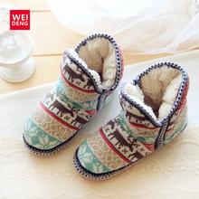 Las Mujeres clásicas Del Tobillo de la Nieve Botas de Plataforma de Punto de Navidad ugs Australia Invierno de Roma Zapatos Femal Casual Algodón Suave Superior ugs(China (Mainland))