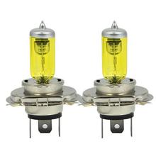 Buy 2xH4 9003 HB2 P43T 12V 3000K 55W Golden Yellow Auto Car HOD Halogen Bulbs Xenon Lamps Ultra Upgrade Headlight Bulbs for $9.61 in AliExpress store