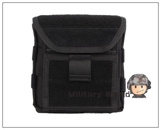 Hunting Army Tactical Military Combat Wargame 1000D Nylon Molle Tactical Admin Storage Magazine Pouch Molle Black(China (Mainland))