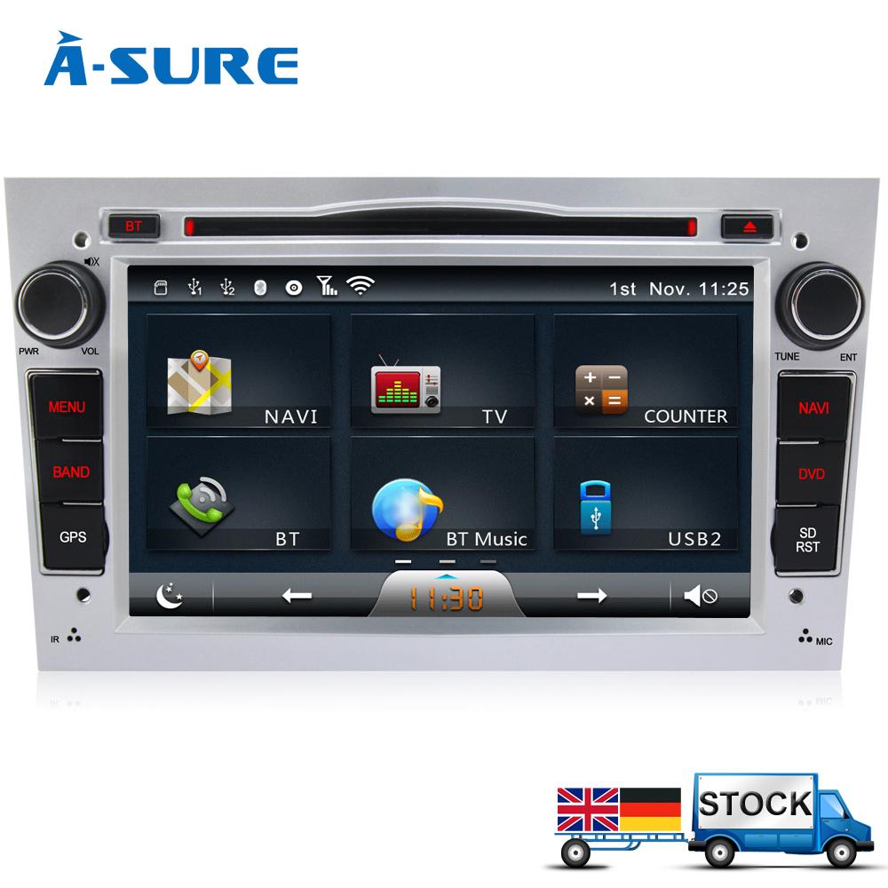 A-Sure In-Car DVD Player GPS WIFI for Vauxhall Corsa Astra Vectra Vivaro Tigra Antara Zafira Blueototh A2DP USB SD MP3 (L4OVS)(China (Mainland))