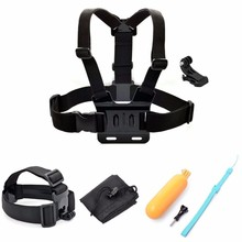 Buy SHOOT Chest Strap Headband Floaty Bobber Mount Gopro Hero 5 4 4S 3 3+2 Xiaomi Yi SJCAMsj4000 SJ5000 for $11.72 in AliExpress store
