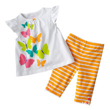 Buy 2017 Kids Clothes Girls Summer Clothing Sets Baby Cotton Costumes Children Girl Pajamas Set Roupas Infantis Menina Sweatshirt for $8.35 in AliExpress store