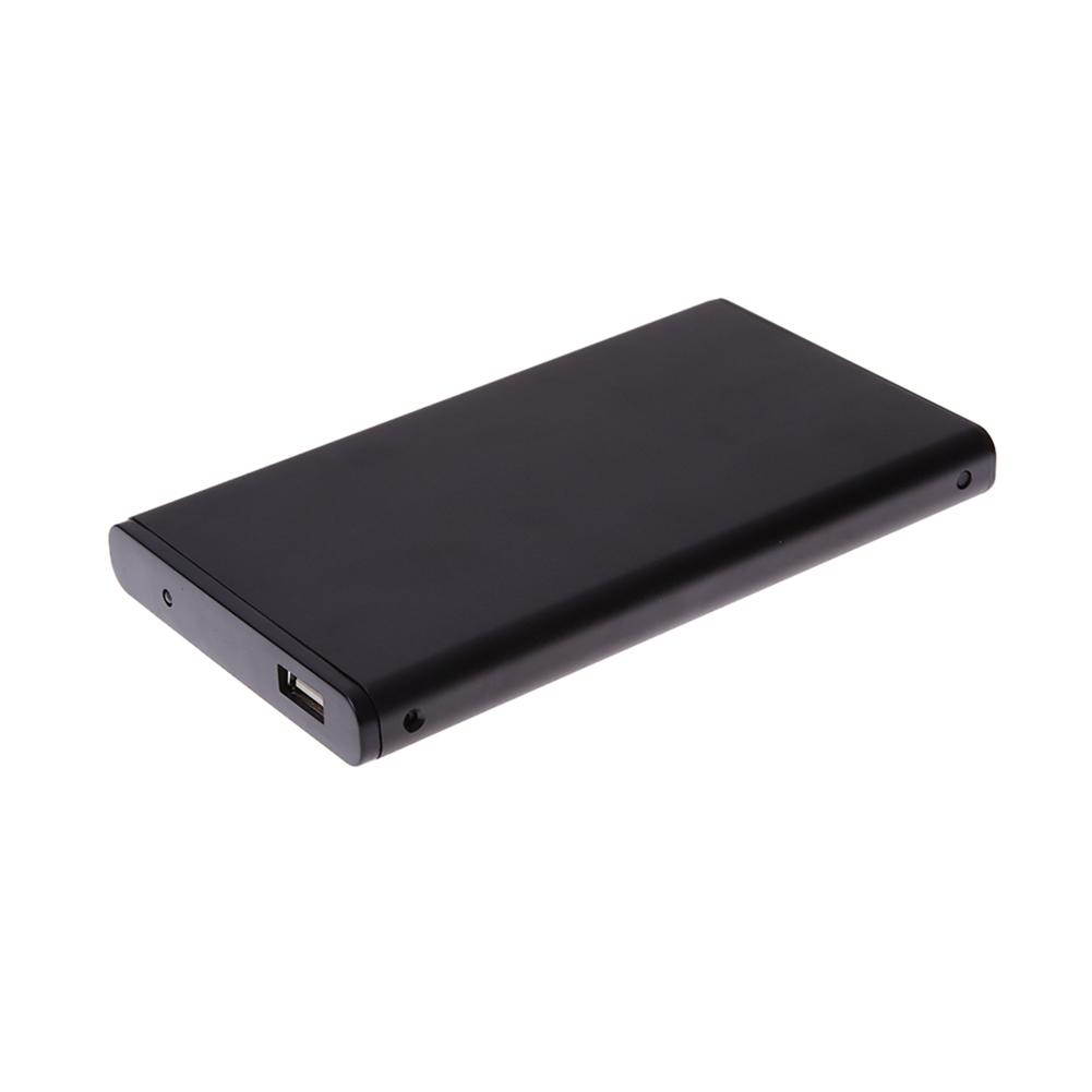 External Aluminum Alloy Case Hard Drive HDD Enclosure Mobile Hard Disk Box USB2.0 Portable Laptop SATA 2.5″HDD Box