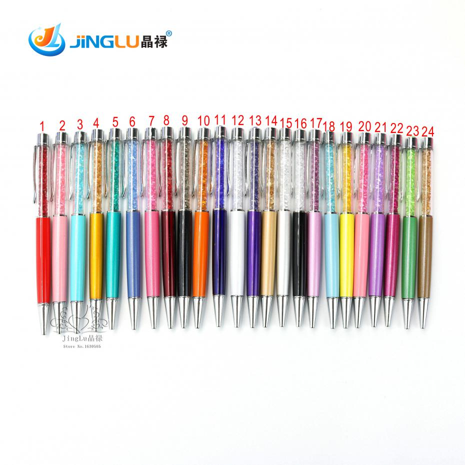1 Pc New Fashion Design Of The Pen And Written On The Diamond Crystal Ball Pen In The Fashion And Hot Sales Free Shipping(China (Mainland))