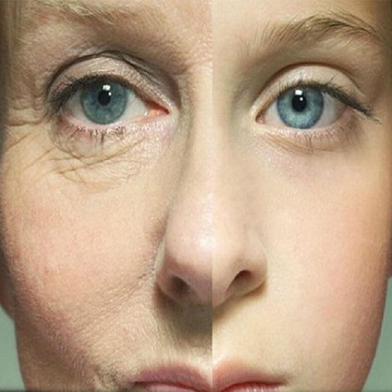 2Pcs Hot Sale Skin Care Whitening Moisturizing Anti-Aging Face Cream Instantly Ageless Anti Wrinkle Collagen Serum Cosmetics(China (Mainland))