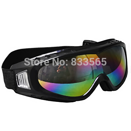 A7 Free shipping Dust Windproof Glasses Goggles Rainbow Colored Glasses Welding Ski Goggles L0750 P(China (Mainland))