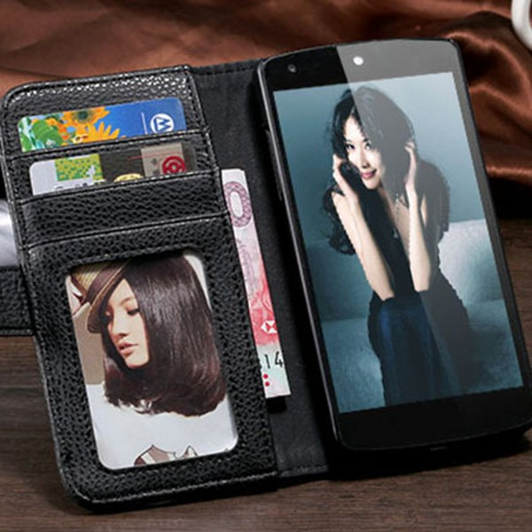 Nexus5 PU Leather Folding Wallet Stand Black Case For LG Google Nexus 5 E980 D820 D821 Mobile Phone Bag Cover Card holder FLM(China (Mainland))