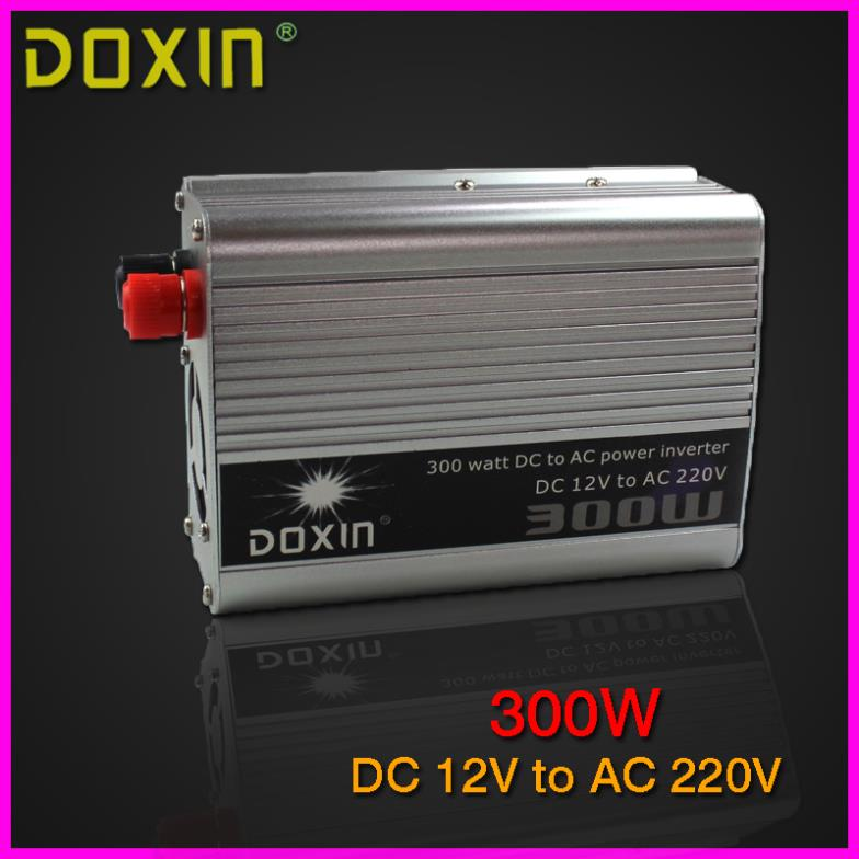 new 2014 DOXIN 300W car charger converter DC 12V to AC 220V car power inverter, 12v car battery charger,ST-N003(China (Mainland))