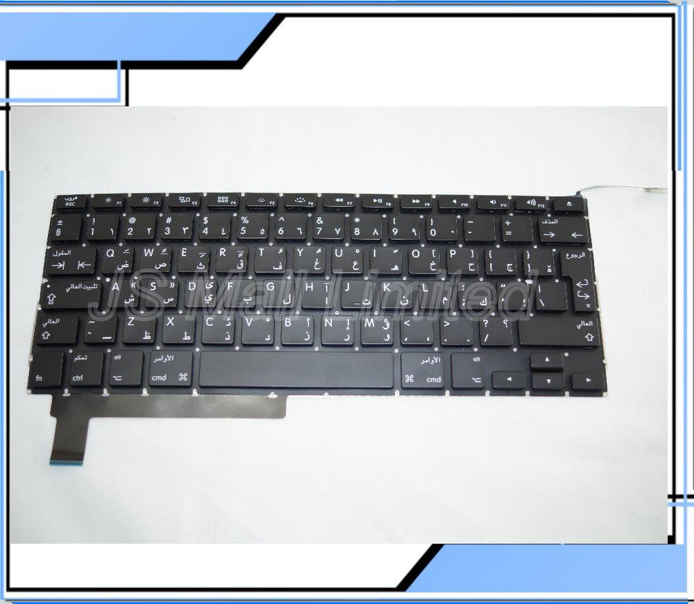 NEW Laptop Keyboard For Macbook Pro A1286 Arab Arabic AR Keyboard 2009-2013 Year<br><br>Aliexpress
