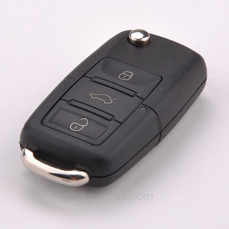Folding Car Remote Flip Key Shell Case Fob For Volkswagen Vw Jetta Golf Passat Beetle Polo Bora 3 Buttons Key Case Y50*MHM476#M5(China (Mainland))