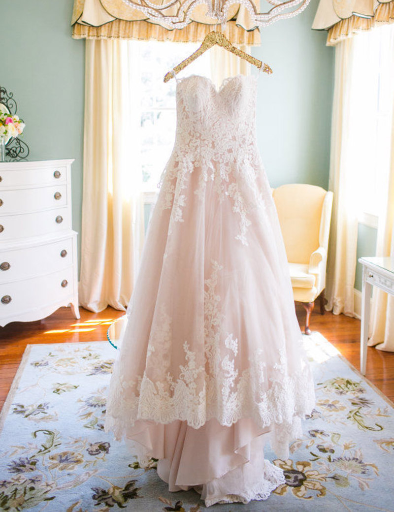 100 Actual Wedding Dress Top Fashion Sweetheart Hidden Zippe Pearls Customed Ball Gown Lace Bride Dresses