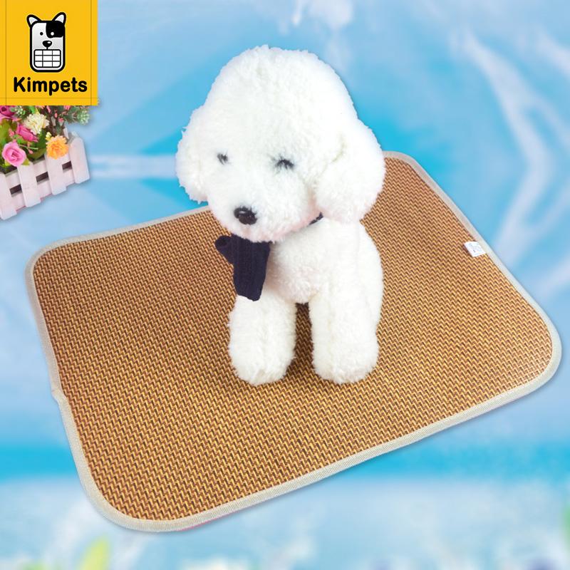 New Multiuse Seat Summer Pet Dog Cat Cool Pad Mat Cool Sleeping Bamboo Bed Sleeping Mat Summer Cooling Cushion Pad Summer pad(China (Mainland))