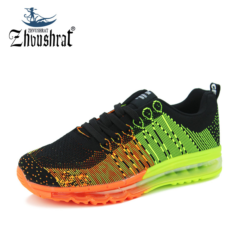 Sneakers Running Shoes For Men Sports Max Cushion Male Shoes Sport Krassovki Flyknit Top Brand 2017 Spring New Sneakers Shoe Man(China (Mainland))