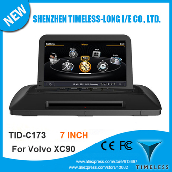 S100 1G CPU DDR 512MB Car GPS For Volvo XC90 With Stereo A8 Chipset Dual Core 3 Zone POP 3G Wifi BT 20 Dics Playing Free Map