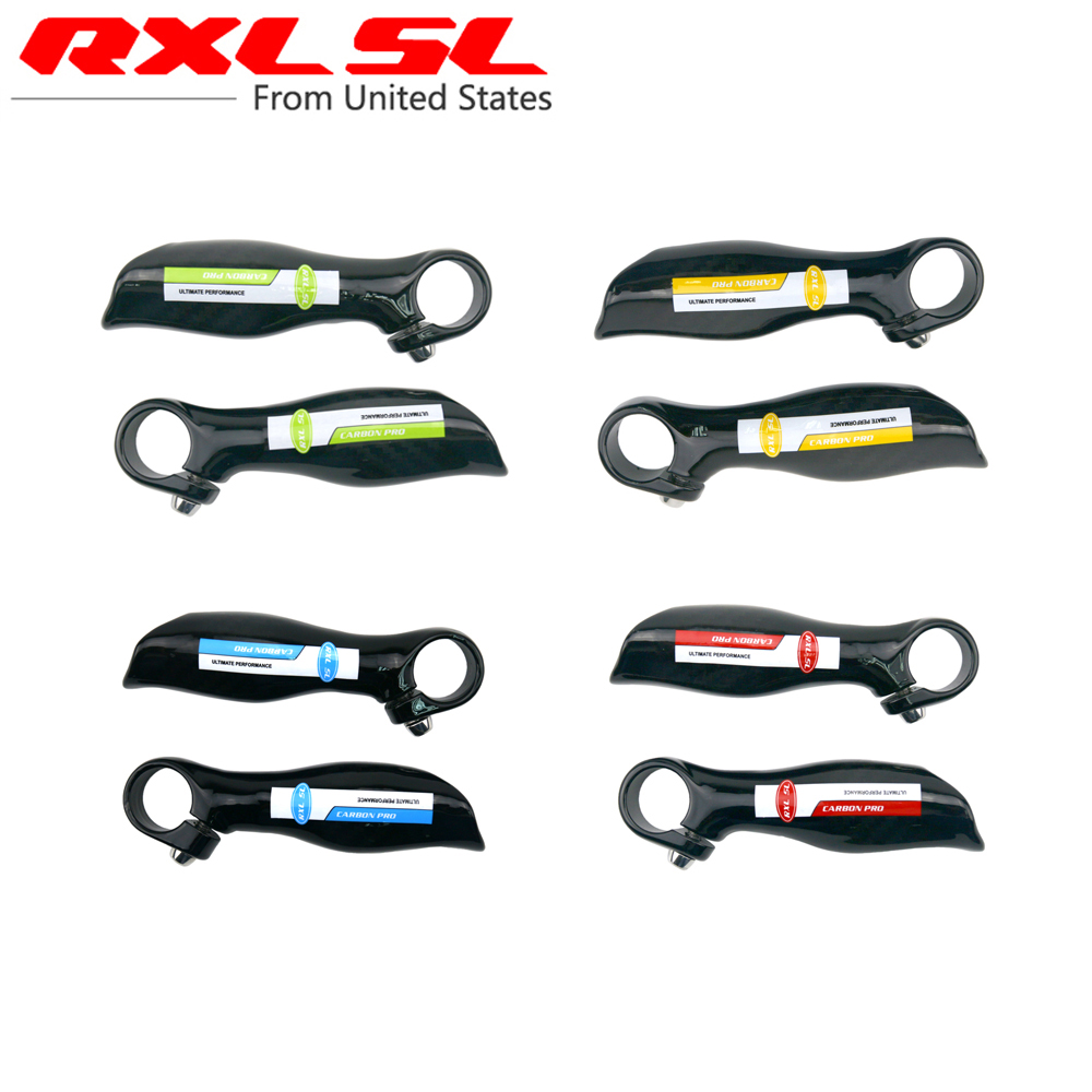 RXL SL Ergonomic Design Mountain Bike Handleber Carbon Bar Ends MTB Carbon Bicycle Bar Ends City Bike Blue/Red/Green/Yellow MA46(China (Mainland))