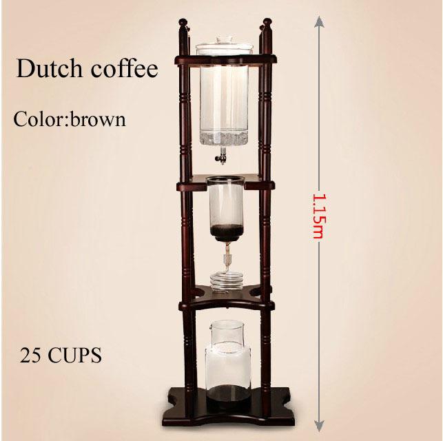 Гаджет  Dutch Coffee Cold Drip Water Drip Coffee Maker Serve For 25cups with Rosewood Rack None Бытовая техника