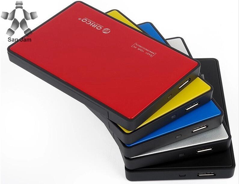 "Brand New ORICO 2588US3 USB 3.0 External 2.5"" SATA SSD HDD Hard Disc Drive Enclosure Case-Black D3394A(China (Mainland))"