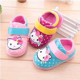 Baby toddler shoes girls princess brand fashion spring autumn soft bottom moccasins tenis baby shoes first walker 61