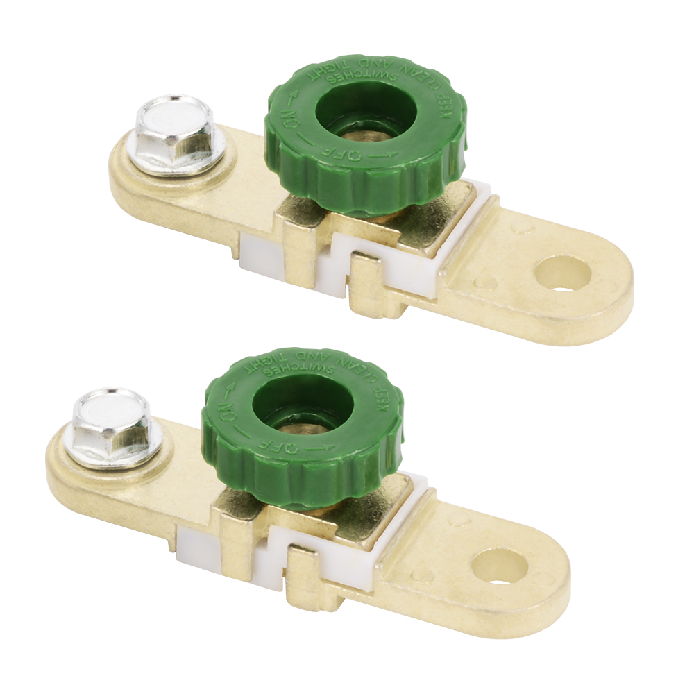2x Car Side Post Battery Master Disconnect Switch Cut Off Isolator 12V 24V MA434(China (Mainland))