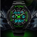 Skmei S Shock Men Sports Watches Men Quartz Military Watches Digital Analog Dual Time Wristwatches Relogio