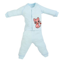 GEX(USA) 100% Combed Cotton Baby sleepwear Baby Clothing Laytte Baby Romper Baby Infant Sleeper BlueCat(China (Mainland))