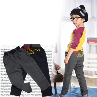 2014 Child trousers male child trousers childrens clothing childrens cotton pants casual pants 4pcs/lot free shipping<br><br>Aliexpress