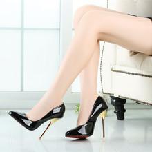 14cm Peep Toe  Heels Sexy Shoes Big size high heels Party Shoes Metal heel,NO.A-4(China (Mainland))