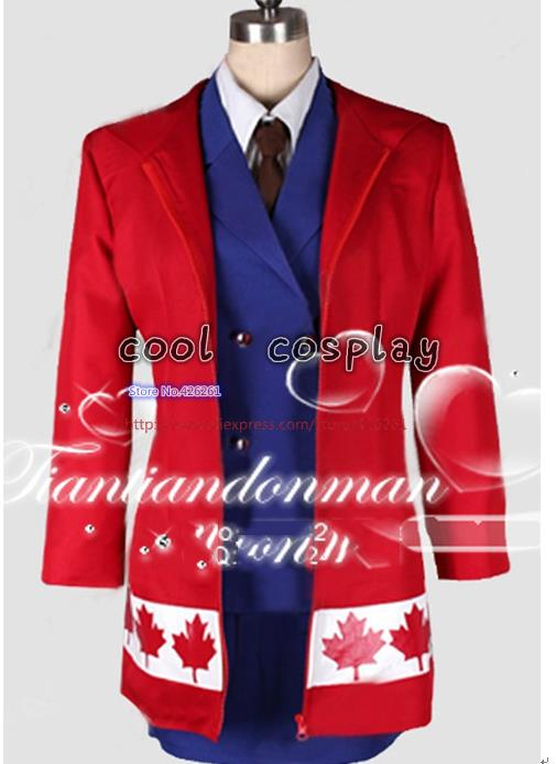 Axis Power Hetalia Canada Matthew Cosplay Costume Any Size