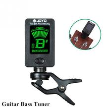 Fzone Clip-on Electric Tuner for Guitar Chromatic Bass Violin Ukulele Universal Portable Guitar Tuner(China (Mainland))