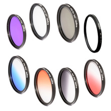 52mm  Gradual blue sky color  FILTER for Nikon D3100 D3200 D5200 D7100 18-55mm