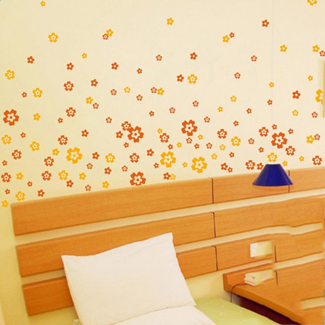 Promo o de flor amarela adesivos disconto promocional for Decalque mural