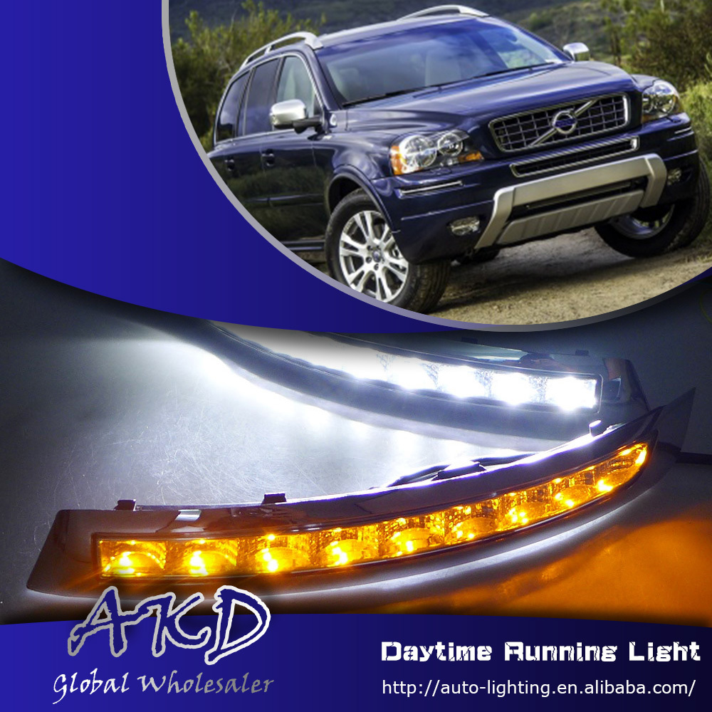 One-Stop Shopping for Volvo XC90 LED DRL XC90 DRL LED Daytime Running Light Car Fog Lamp Automotive Accessories(China (Mainland))