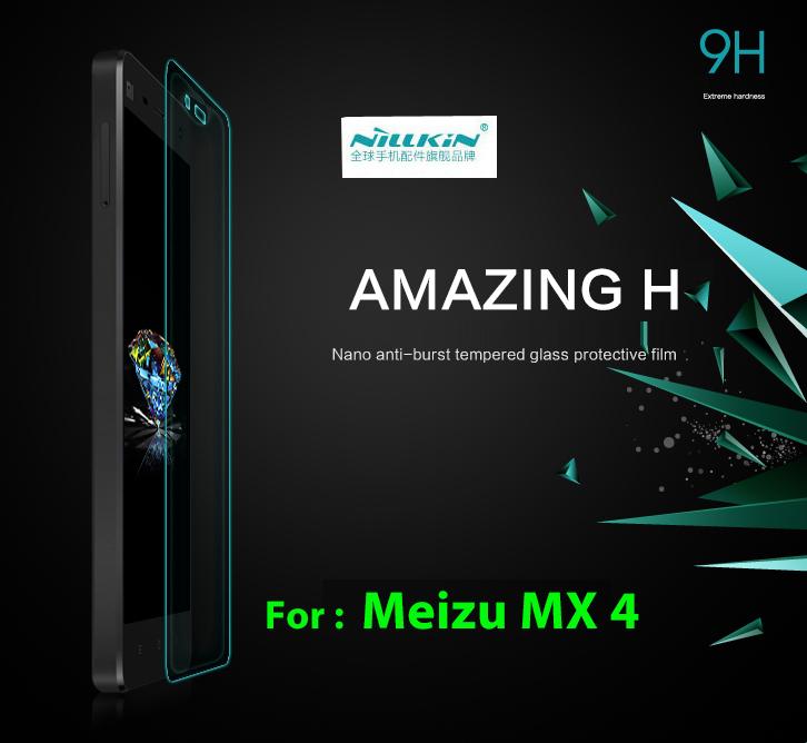 Защитная пленка для мобильных телефонов Nillkin H Meizu MX4 0,3 9 H чехлы для телефонов with love moscow силиконовый дизайнерский чехол для meizu m3s перья