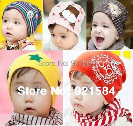 gorro baby beanie baby boy hats girl caps,36 color elasticity Skullies,newborn new born photography props for 0-2 years old kids(China (Mainland))