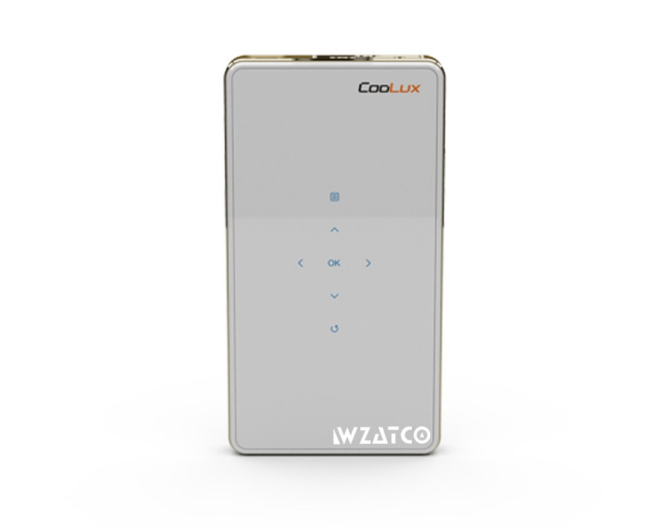 Coolux Q6 android 4.4 Built in 5000mAh Battery Mini Pocket Projectors for Smartphone/ projecteur/ proyector with Wifi Miracast