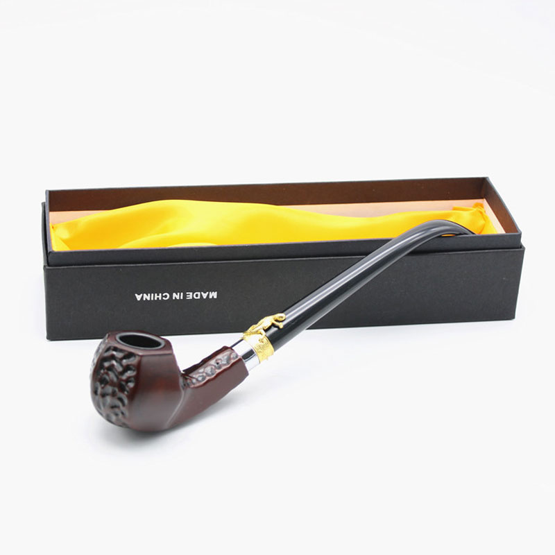 Gift Set Wooden Smoking Pipe Tobacco Pipe Filter Ebony Wood grinders weed cigar cutter cohiba cigarette rolling machine(China (Mainland))