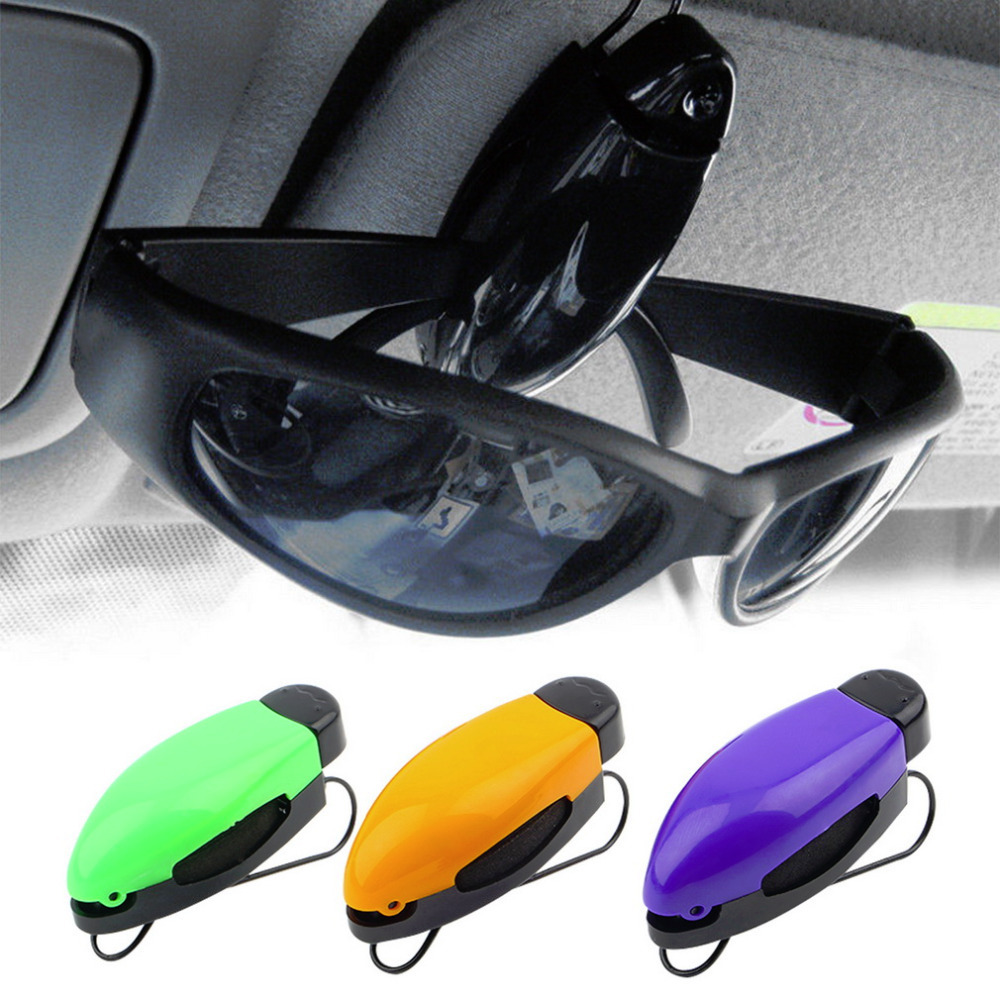 1pcs Car Vehicle Accessory Sun Visor Sunglasses Eye Glasses Card Pen Holder Clip Hot Worldwide(China (Mainland))