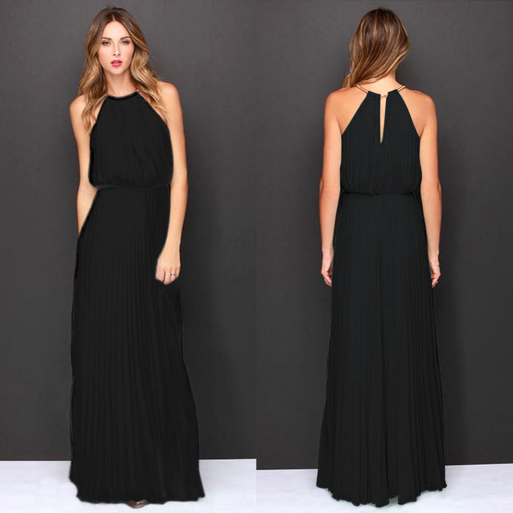 Long Black Maxi Dresses