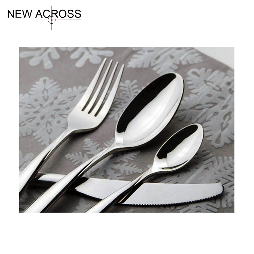 Buy Gohide 4pcs/set Spoon Fork Knife Kit Dining Fashion Tableware Knife Set Western Metal Stainless Steel Fork Spoon Knife 4 Set cheap